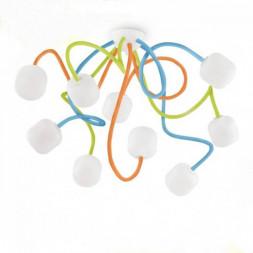 Потолочная люстра Ideal Lux Octopus PL9 Color