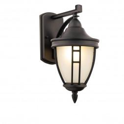 Уличный настенный светильник Maytoni Novara O027WL-01B