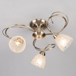 Потолочный светильник Eurosvet 30130/3 античная бронза