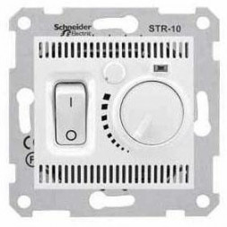 Термостат комнатный Schneider Electric Sedna 10A 230V SDN6000121