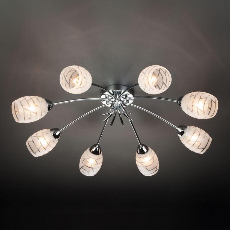 Потолочный светильник Eurosvet 30127/8 хром