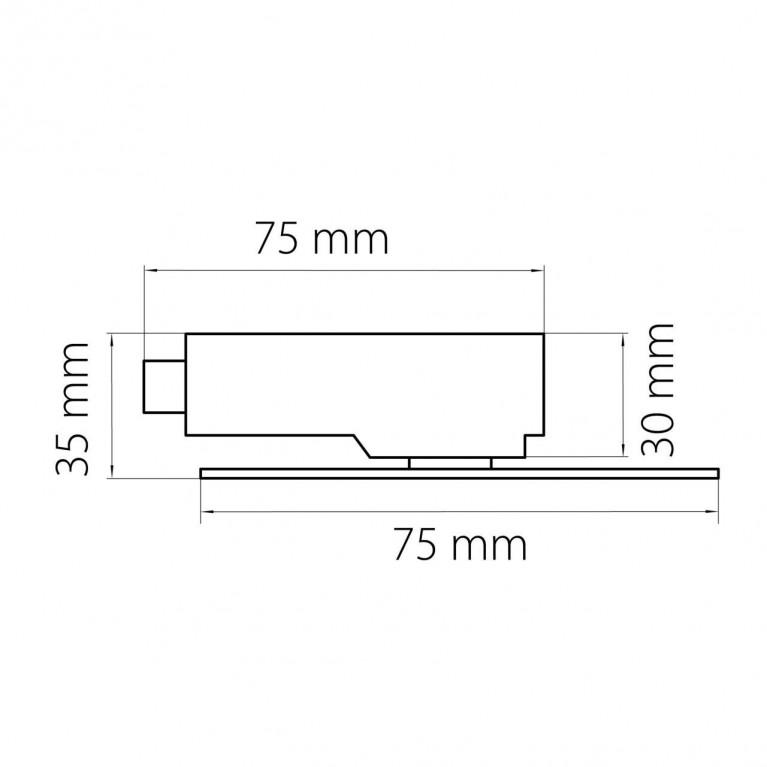 Адаптер для шинопровода Lightstar Asta 592061