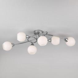 Потолочный светильник Eurosvet 30133/6 хром