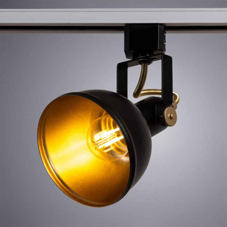 Трековый светильник Arte Lamp Martin A5213PL-1BK