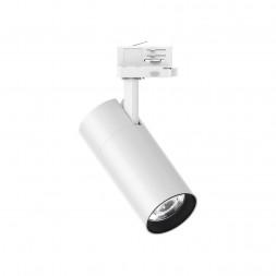 Трековый светодиодный светильник Ideal Lux Quick 28W CRI90 30 3000K White