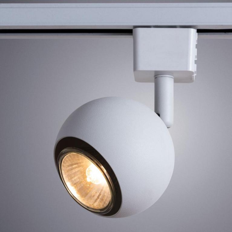 Трековый светильник Arte Lamp Brad A6253PL-1WH