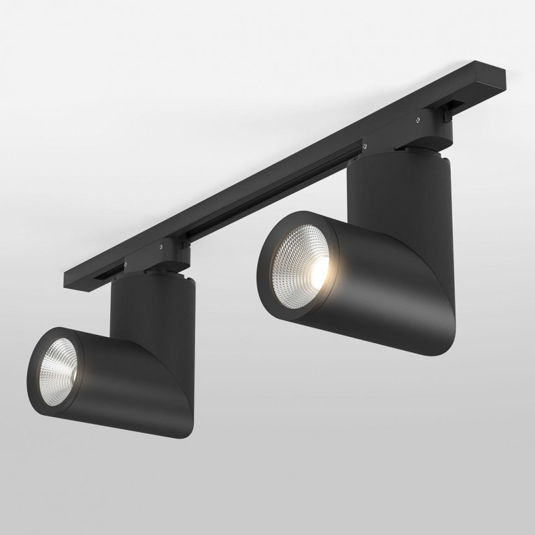Трековый светодиодный светильник Elektrostandard Corner черный 15W 4200K LTB33 4690389134784