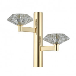 Бра Crystal Lux REBECA AP2 GOLD