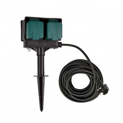 Удлинитель садовый 4гн х 10м UK SLV 1000877