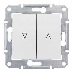 Выключатель для жалюзи злектрическая блокировка Schneider Electric Sedna SDN1300121