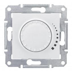 Диммер поворотный емкостный проходной Schneider Electric Sedna 60-500W SDN2200521