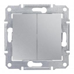 Выключатель двухклавишный Schneider Electric Sedna 10A 250V SDN0300160
