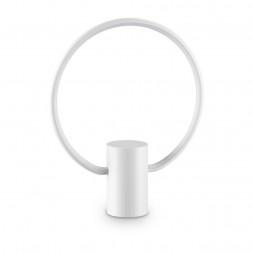 Настольная лампа Ideal Lux Cerchio TL Bianco