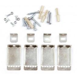 Комплект настенно-потолочного крепления для светодиодных панелей (UL-00000422) Uniel UFL-F02 Silver