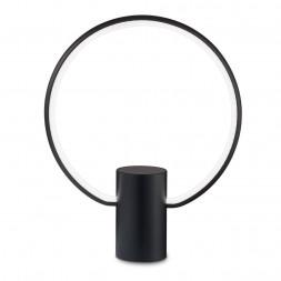 Настольная лампа Ideal Lux Cerchio TL Nero