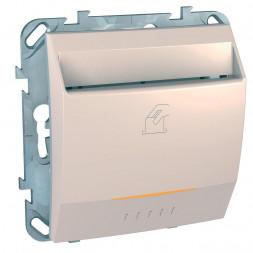 Выключатель карточный с выдержкой времени Schneider Electric Unica 8A MGU5.540.25ZD