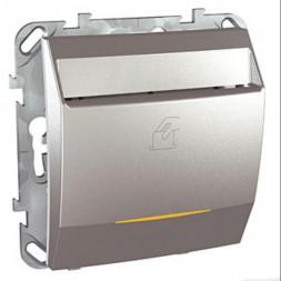 Выключатель карточный с выдержкой времени Schneider Electric Unica 8A MGU5.540.30ZD