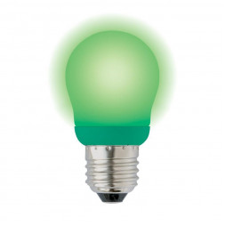 Лампа энергосберегающая (03039) E27 9W Green зеленый ESL-G45-9/GREEN/E27