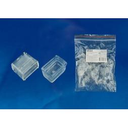Заглушка торцевая для светодиодной ленты (UL-00002938) Uniel UCW-N21 Clear 025 Polybag