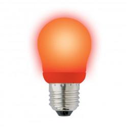 Лампа энергосберегающая (02955) E27 9W Red красный ESL-G45-9/RED/E27