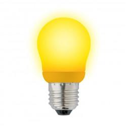 Лампа энергосберегающая (02977) E27 9W Yellow желтый ESL-G45-9/YELLOW/E27