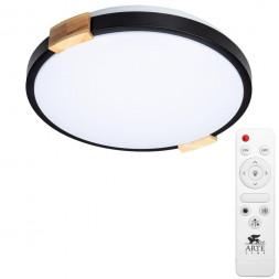 Потолочный светодиодный светильник Arte Lamp Jersey A2683PL-72BK