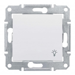 Выключатель кнопочный Свет Schneider Electric Sedna IP44 10A 250V SDN0900321