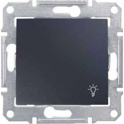 Выключатель кнопочный Свет Schneider Electric Sedna IP44 10A 250V SDN0900370