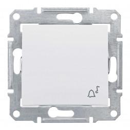 Выключатель кнопочный Звонок Schneider Electric Sedna IP44 10A 250V SDN0800321