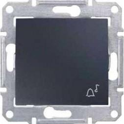 Выключатель кнопочный Звонок Schneider Electric Sedna IP44 10A 250V SDN0800370