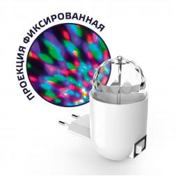 Настенный светильник Gauss с фиксированной проекцией диско DIY0041