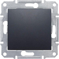 Выключатель одноклавишный 2P Schneider Electric Sedna 10A 250V SDN0200170