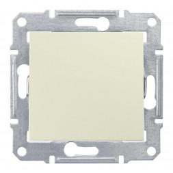 Выключатель одноклавишный 2P Schneider Electric Sedna IP44 10A 250V SDN0200347