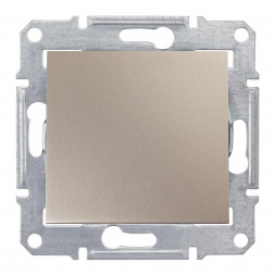 Выключатель одноклавишный 2P Schneider Electric Sedna IP44 10A 250V SDN0200368
