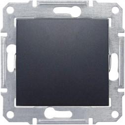 Выключатель одноклавишный 2P Schneider Electric Sedna IP44 10A 250V SDN0200370