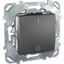 Выключатель одноклавишный 2P Schneider Electric Unica 16A 250V MGU5.262.12ZD