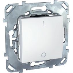 Выключатель одноклавишный 2P Schneider Electric Unica 16A 250V MGU5.262.18ZD
