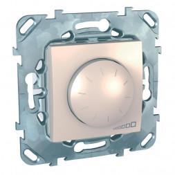 Диммер поворотный Schneider Electric Unica для ламп накаливания и галогенных 40-1000W MGU5.512.25ZD