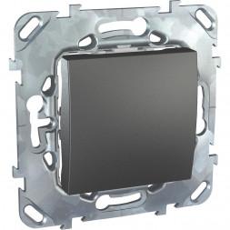 Выключатель одноклавишный кнопочный Schneider Electric Unica MGU5.206.12ZD