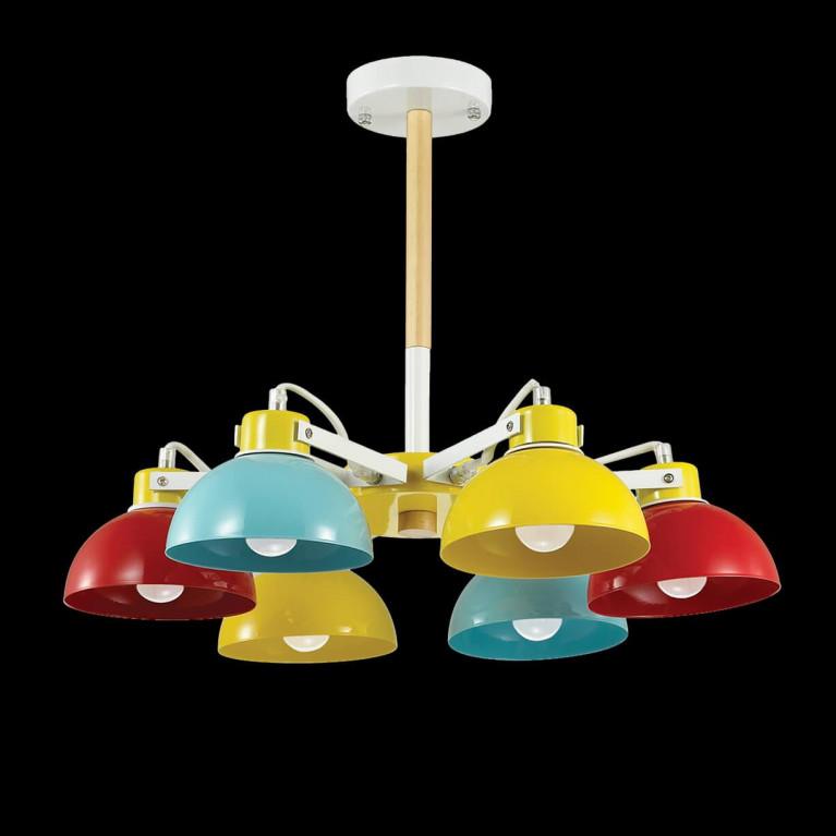 Потолочная люстра Ideal Lux Titti PL6