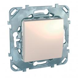 Выключатель одноклавишный кнопочный Schneider Electric Unica MGU5.206.25ZD