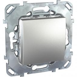 Выключатель одноклавишный кнопочный Schneider Electric Unica MGU5.206.30ZD
