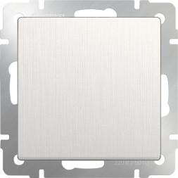 Выключатель одноклавишный перламутровый рифленый WL13-SW-1G 4690389124365