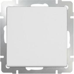 Выключатель одноклавишный проходной белый WL01-SW-1G-2W 4690389045547