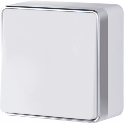 Выключатель одноклавишный проходной Gallant белый WL15-01-03 4690389102042