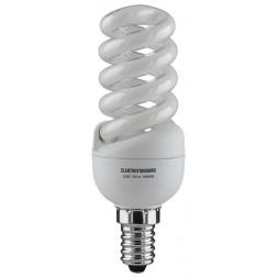 Лампа энергосберегающая SMT E14 15W Мини-спираль желтый 4690389001819