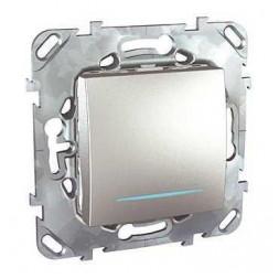 Выключатель одноклавишный с подсветкой Schneider Electric Unica MGU5.201.30NZD