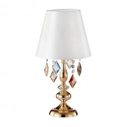 Настольная лампа Crystal Lux Mercedes LG1 Gold/Color