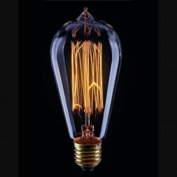 Лампа накаливания Voltega E27 60W 2200К прозрачная VG6-ST64A1-40W 5918