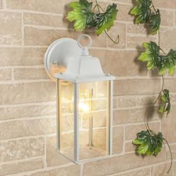 Уличный настенный cветильник Elektrostandard 1008D Brick белый 4690389106767